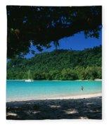 Champagne Beach Fleece Blanket