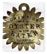 Champion Oyster Eater - To License For Professional Use Visit Granger.com Fleece Blanket