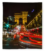 Champs Elysees Fleece Blanket