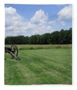 Chancellorsville Battlefield 2 Fleece Blanket