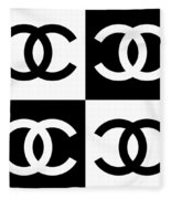 Chanel Design-5 Fleece Blanket