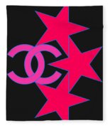 Chanel Stars-9 Fleece Blanket