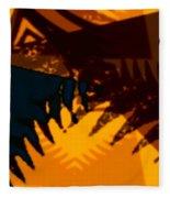 Change - Leaf13 Fleece Blanket