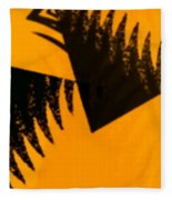 Change - Leaf4 Fleece Blanket