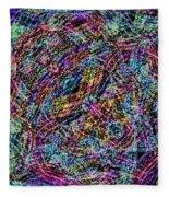 Chaos Theory Fleece Blanket