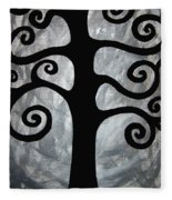Chaos Tree Fleece Blanket
