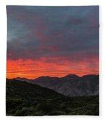 Chaparral Dreams Fleece Blanket