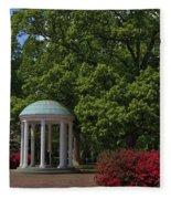 Chapel Hill Old Well Fleece Blanket