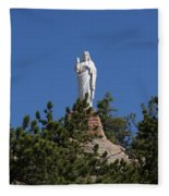 Chapel On A Rock 3 Fleece Blanket