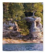 Chapel Rock Fleece Blanket