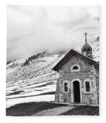 Chapelle Des Aravis Fleece Blanket
