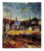 Chapelle D'havenne  Fleece Blanket