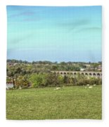 Chappel Viaduct Fleece Blanket