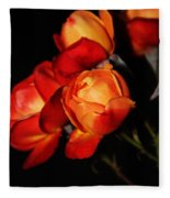 Charisma Roses 4 Fleece Blanket