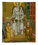 Charlemagne (742-814) Fleece Blanket