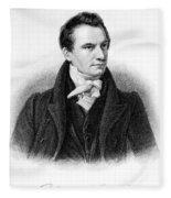 Charles Babbage, English Computer Fleece Blanket
