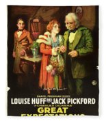 Charles Dickens' Great Expectations 1917 Fleece Blanket