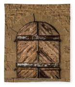 Charles Goodnight Barn Doors Fleece Blanket