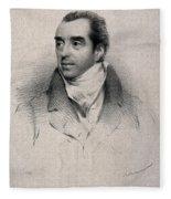 Charles Hatchett, English Chemist Fleece Blanket