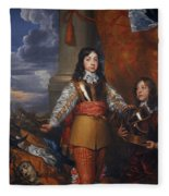 Charles II - King Of Scots And King Of England Fleece Blanket
