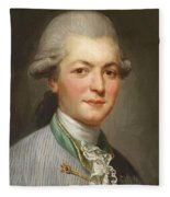 Charles Joseph De Pallu Fleece Blanket