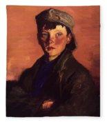 Charles O Malley 1927 Fleece Blanket