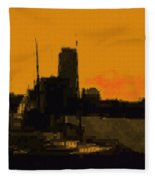 Charles River 1967 Fleece Blanket