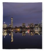 Charles River Clear Water Reflection Fleece Blanket