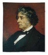 Charles Sumner Fleece Blanket