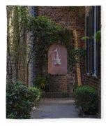 Charleston Brick Alley Fleece Blanket