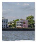 Charleston By The Sea Fleece Blanket
