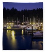 Charleston Docks Fleece Blanket