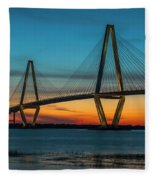 Charleston Golden Hour Fleece Blanket