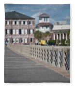 Charleston High Battery Side Walk Fleece Blanket