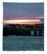 Charleston Port Fleece Blanket