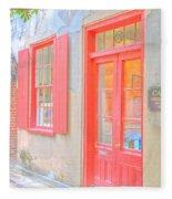 Charleston Sc Catfish Row Fleece Blanket