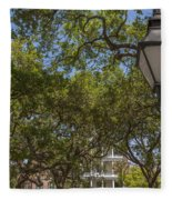 Charleston Through The Tree's Fleece Blanket