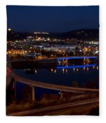 Charleston - West Virginia Fleece Blanket