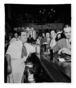 Charlie's Tavern N Y C 1947 Fleece Blanket