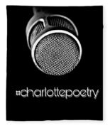 #charlottepoetry Photo Poster Art Fleece Blanket