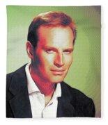 Charlton Heston, Hollywood Legends Fleece Blanket