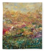 Charming Chasms Series Fall Frolic Fleece Blanket