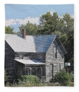 Charming Country Home Fleece Blanket