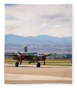 Chase Plane Fleece Blanket