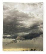 Chasing Nebraska Stormscapes 044 Fleece Blanket
