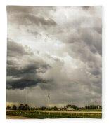 Chasing Nebraska Stormscapes 045 Fleece Blanket