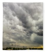 Chasing Nebraska Stormscapes 046 Fleece Blanket