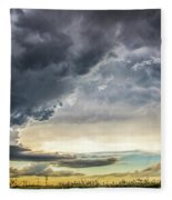 Chasing Nebraska Stormscapes 047 Fleece Blanket