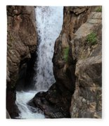 Chasm Falls 2 - Panorama Fleece Blanket