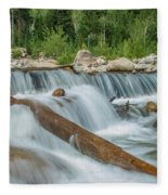 Chasm Falls Fleece Blanket